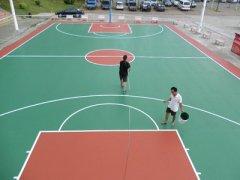 篮球场地坪漆